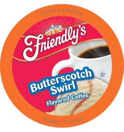 Friendlys Butterrscotch Swirl