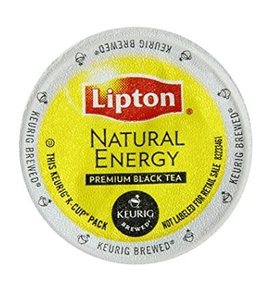 Lipton Natural Energy Black Tea