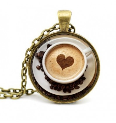 Cappuccino Mug with heart