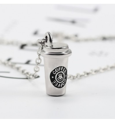 Coffee Cup Keychain