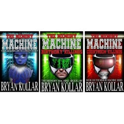 All 3 Books - Memory Machine Trilogy