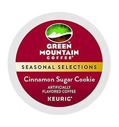 Green Mountain Cinnamon Sugar Cookie