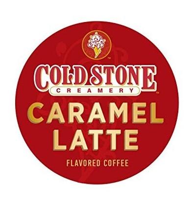 Cold Stone Caramel Latte