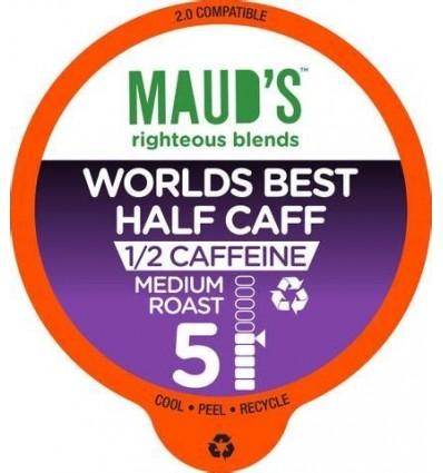 Mauds Worlds Best Half Caff