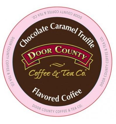 Door County Chocolate Caramel Truffle